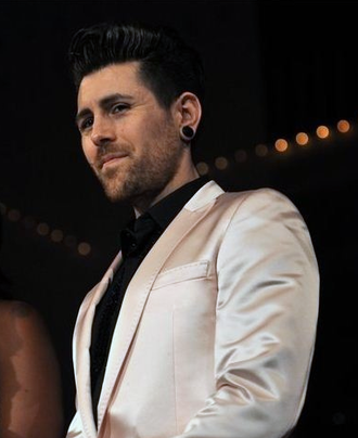 Davey Havok - Havok at the Mélange Fashion Show in 2011