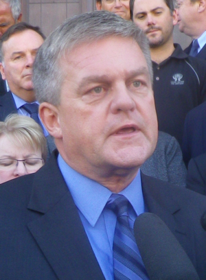 New Brunswick general election, 2014 - Image: David Alward, premier of New Brunswick, Canada