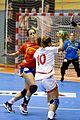 Davinia López y Nuria Benzal - Jornada de las Estrellas de Balonmano 2013 - 01.jpg