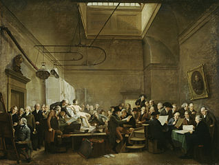 The Drawing Gallery of the Felix Meritis Society