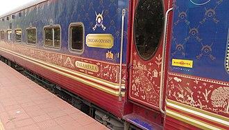 Deccan Odyssey - Image: Deccan Odyssey Coach Parampara
