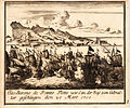 Decorative scenes of the War of the Spanish Succession - Gibraltar, 1705.jpg