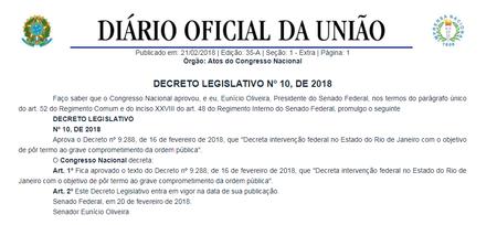 Resultado de imagem para Decreto Legislativo