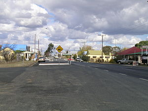 Deepwater, New South Wales - New England Highway, Deepwater, NSW