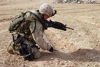 Ka-Bar - In USMC service in Iraq, 2005.