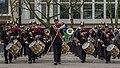 Defilé Korps Mariniers op de Coolsingel te Rotterdam ter ere van het 350 jarig bestaan. (23072776543).jpg