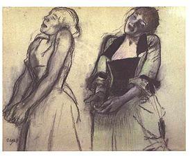 Degas - Zwei Studien einer Sängerin.jpg