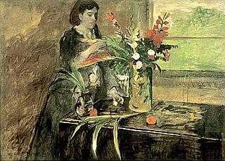 Portrait of Estelle Musson Degas