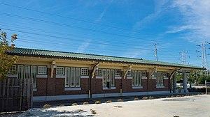 Arthur U. Gerber - Image: Dempster Station Side 2013