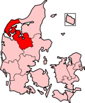 Viborg County - Viborg County in Denmark