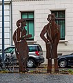 Der Neandertaler und Beuys (Dieter Patt) (Bonn) jm54032.jpg