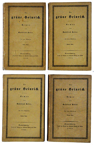Green Henry - Covers of the first edition