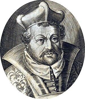 Balthasar von Dernbach - Prince-abbot Balthasar von Dernbach