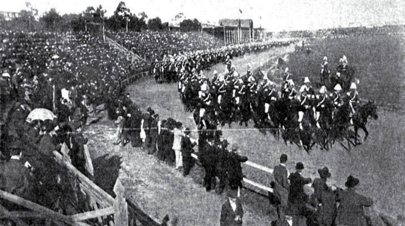 Desfile militar sportiva