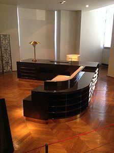 Desk of Adminiistrator Michel Roux-Spitz 1930