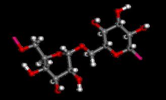 Dextran - Image: Dextran ball and stick