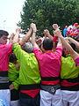 Diada castellera festes de primavera 2014 a Sant Feliu de Llobregat P1480292.jpg