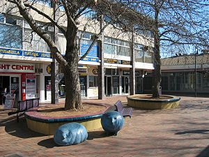 Suburbs of Canberra - Dickson Centre is one of the largest group centres in Canberra.