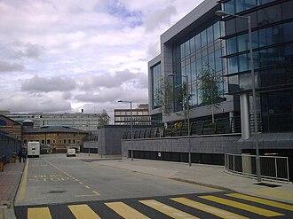Sheffield Digital Campus - The Sheffield Digital Campus development (right) and Sheffield Interchange (left)