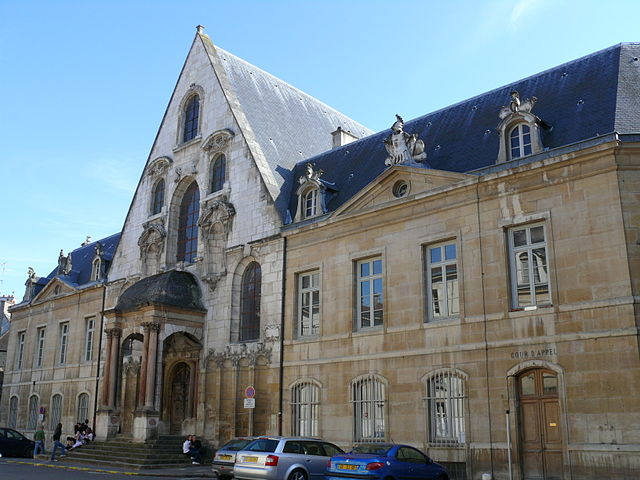 Достопримечательности Дижона: Парламент Дижона
