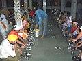 Diners at Sikh Gurdwara, Manikaran.jpg
