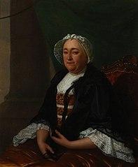 Portret van Ignatia Maria Visch (1713-1774)