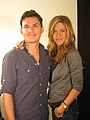 Director Andres Useche and actress Jennifer Aniston (cropped).jpg