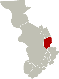 District of Merksem within the city of Antwerp