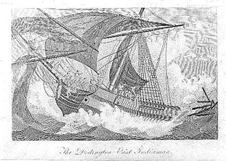 Kwaaihoek - Engraving of the Doddington