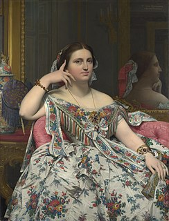 <i>Portrait of Madame Moitessier</i> painting by Jean-Auguste-Dominique Ingres in the National Gallery, London