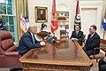 Donald Trump and Kim Yong Cho 02.jpg