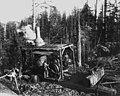 Donkey engine at Camp 2, McDougal and Biladeau Logging Co, Ravensdale (CURTIS 995).jpeg