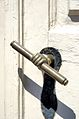 Door Handle at Central Moravian Church, Moravian Bethlehem.jpg
