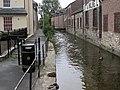 Dorchester, mill stream - geograph.org.uk - 1491199.jpg