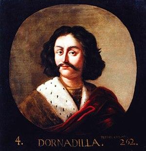 Jacob de Wet II - Dornadilla, legendary king of Scotland, fourth in the king list of George Buchanan, 1684-6