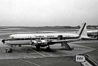 Transair Sweden Former Swedish airline, 1950–1981
