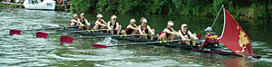May Bumps - Downing W1 with the Women's Headship in 2011