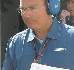 Jerry Punch - Punch at the 2010 Indianapolis 500