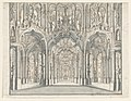 Drawing, Stage Design, Arcaded Palace Hall, early 18th century (CH 18539605).jpg