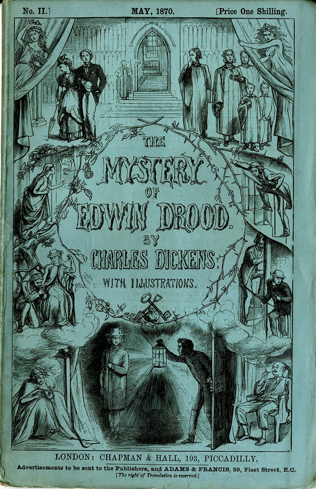 A literary analysis of the mystery of edwin drood by charles dickens