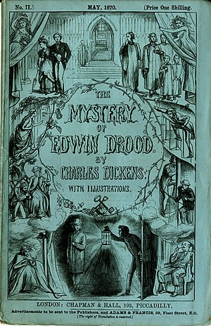 The Mystery of Edwin Drood - Cover of serial No. 6, September 1870