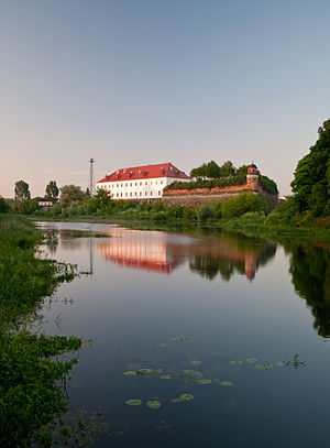 Dubno Castle - View from the Ikva River