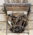 Dubrovnik, palazzo del rettore, portico, capitello di giorgio orsini 03.JPG