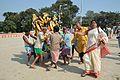 Durga Idol Immersion Procession - Baja Kadamtala Ghat - Kolkata 2012-10-24 1293.JPG