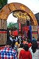 Durga Puja Pandal Main Gateway - Chetla Agrani Club - Kolkata 2017-09-26 4207.JPG
