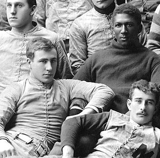 George Dygert - Dygert (lower left) with George Jewett (upper right) on the 1890 Michigan team