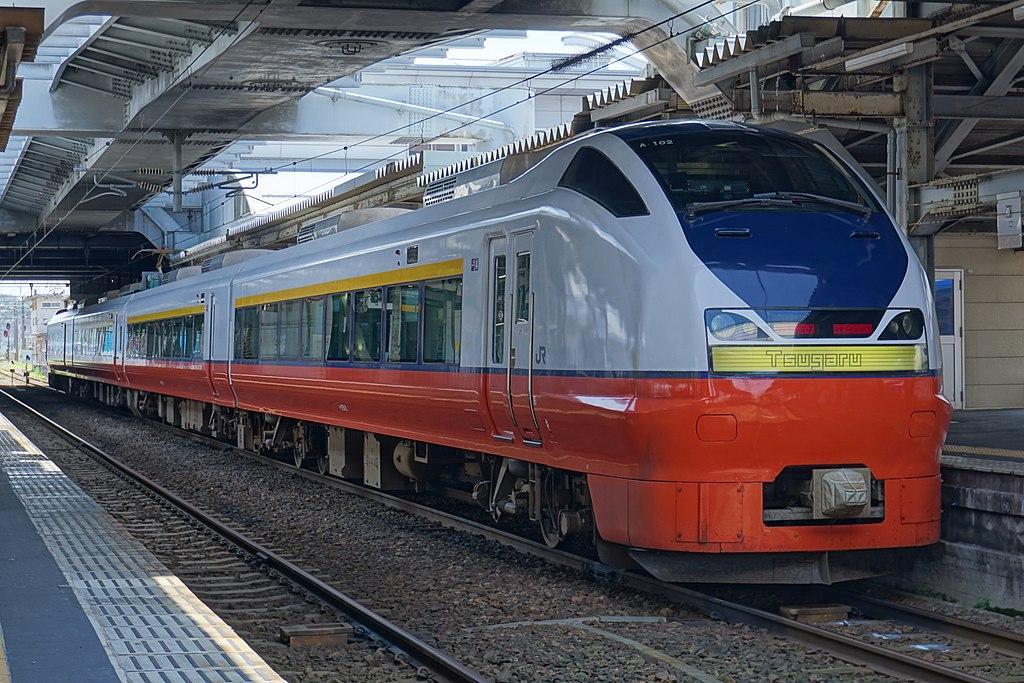 つがる(2019年8月 秋田駅)