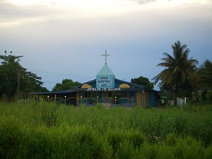 English: A church near Nadi Airport, Fiji