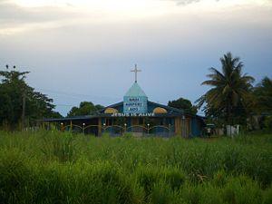 English: A church near Nadi Airport, Fiji