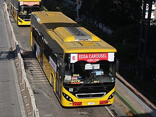 EDSA Carousel Bus rapid transit system in Metro Manila